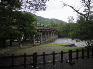 五十鈴川に架かる宇治橋