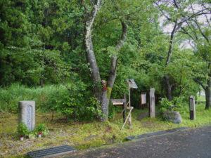 熊野古道八鬼山道 八鬼山登り口