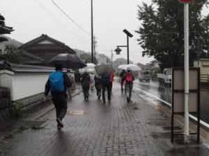 尾鷲神社から熊野古道伊勢路へ