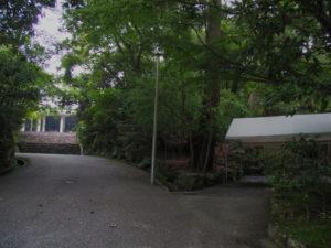 神宮司廳への階段と・・・