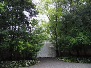 斎館の御門(内宮)