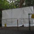 大修繕が続けられる子安神社(皇大神宮 所管社)