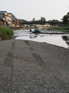 新橋(五十鈴川)の遠望