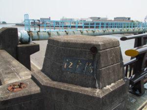 国道23号 江戸橋(下り)
