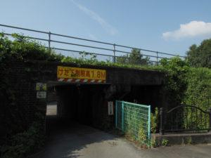 JR参宮線 外城田・田丸間 城山架道橋付近
