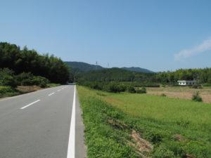 勝田大池から鴨神社へ