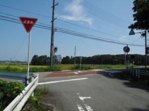 的山公園第2駐車場から田宮寺操作所付近へ
