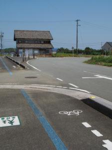 田宮寺操作所付近から北方向へ