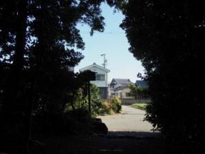 宇須乃野神社(豊受大神宮 摂社)の社窓
