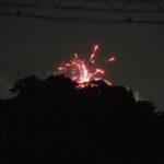 河原神社(豊受大神宮 摂社)の社叢から噴火?