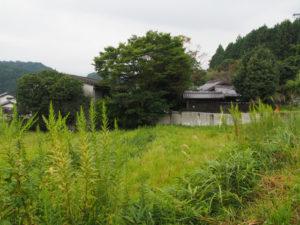 gallery0369および古民家Hibicoreの遠望(津市美里町三郷)