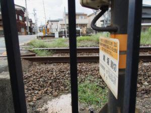 JR参宮線 越坂踏切