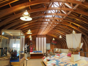 B館、海の博物館(鳥羽市浦村町)