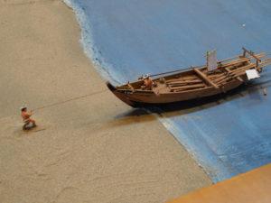 B館に展示されているジオラマほか@海の博物館