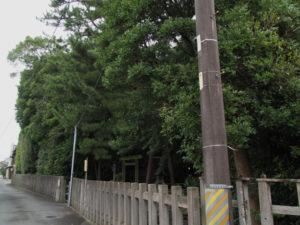 御食神社(豊受大神宮 摂社)付近