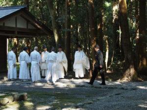 神御衣奉織鎮謝祭(神麻続機殿神社)