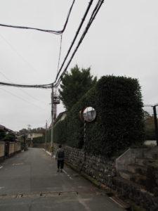 NTT電柱番号板[桜ヶ丘幹2]と[大麻込1]の間