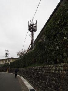 NTT電柱番号板[五十鈴川基地込1]付近