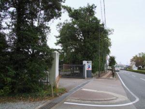 再稼働していたせんぐう館付近の観光バス駐車場