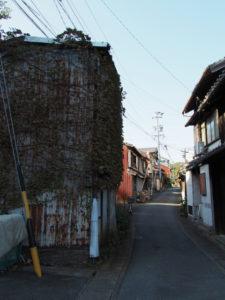 慈眼山 金胎寺付近の路地