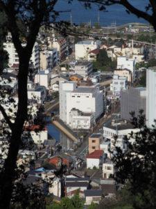 樋ノ山々頂から望む妙慶川と相橋方向