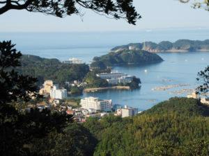 樋ノ山々頂から望む小浜方向