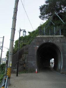 鳥羽城跡 三の丸広場付近〜近鉄中之郷駅にあるトンネル