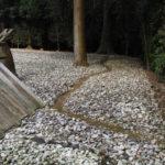 神服織機殿神社で見つけた謎の小径(皇大神宮 所管社)