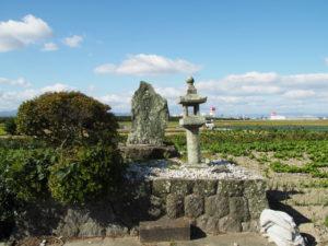 石田神社跡(多気郡明和町養川)