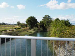 祓川に架かる丹川橋