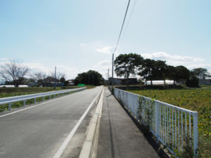 丹川橋(祓川)〜明和町民バス 行部(西)バス停