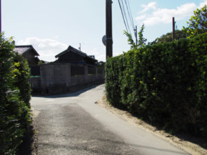 明和町民バス 行部(西)バス停〜須賀神社(多気郡明和町行部)