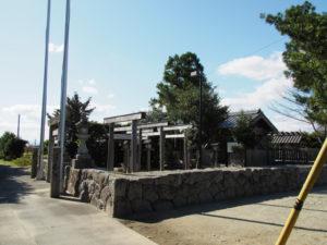 檜山神社(多気郡明和町行部)
