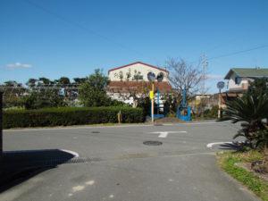 県道60号との交差点(多気郡明和町前野)