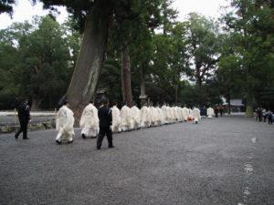大嘗祭当日祭(外宮)