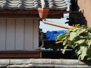 美装工事が開始された旧御師 丸岡宗大夫邸(伊勢市宮町)