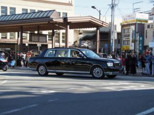 天皇皇后両陛下が伊勢を離れられた後の近鉄宇治山田駅