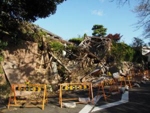 亀山宿 西町問屋場跡付近(東海道)