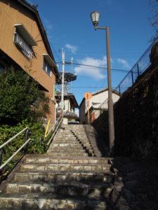 8 人形坂(東海道 (15)亀山宿・A)
