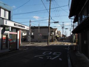 巡見道との分岐付近(東海道)