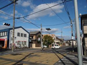 東海道から分岐する巡見道(東海道 (15)亀山宿・A)