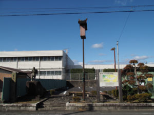 旧井田川小学校跡(東海道 (14)和田)