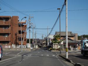 JR関西本線 井田川駅付近