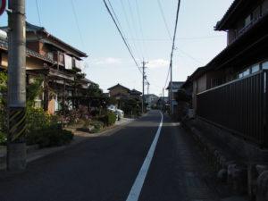 地福寺〜地蔵堂(東海道 (13)中富田・西富田・B)