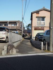 7と8 「右 ののぼり道」の道標(東海道 (13)中富田・西富田・B)