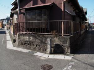 1 「ひろせ道」の道標(東海道 (13)中富田・西富田・B)