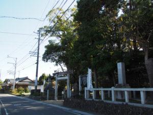 9 川俣神社(東海道 (13)中富田・西富田・A)