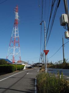川俣神社〜女人堤防石碑(東海道 (13)中富田・西富田・A)