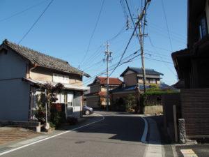 1 「平野道」の道標(東海道 (13)中富田・西富田・A)