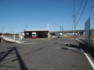 「平野道」の道標〜川俣神社(庄野宿)
